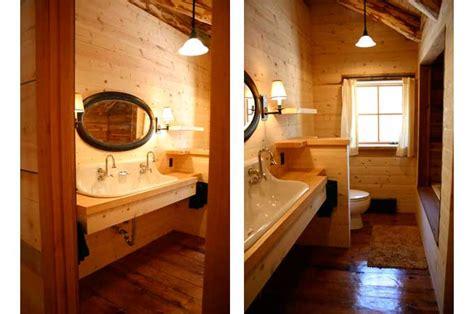 log bathroom log cabin living room atrium guest bedroom in chama log