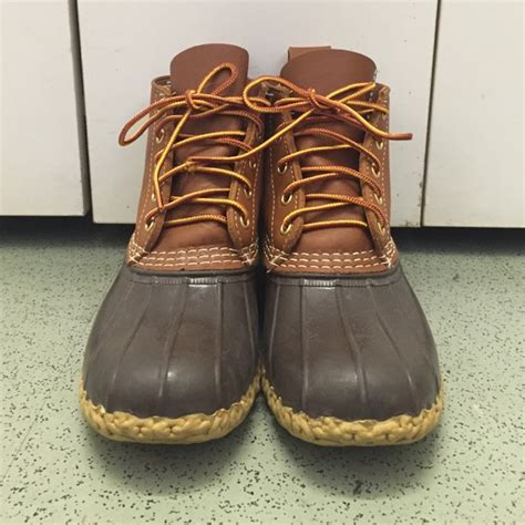 6 inch bean boots l l bean l l bean boots sz 8 6 inch and 8 inch from