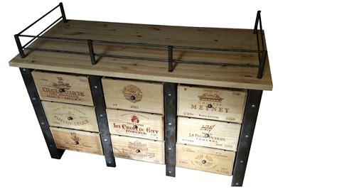Table Avec Caisse De Vin by Meuble Caisses De Vins Stockages Bouteilles De Vins