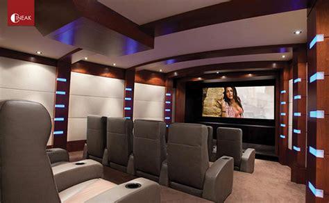 contemporary home theaters  maximum entertainment