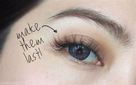 12 useful tips to make your eyelash extensions last a