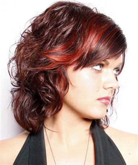 shoulder length layered natural curly haircuts with front and back pictures medium wavy hairstyles beautiful hairstyles