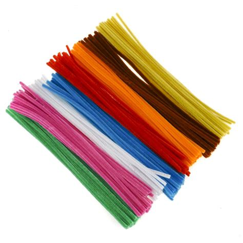 pipe cleaners and single colour pipe cleaner pack beige 100 pipe