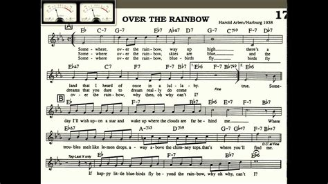testo the rainbow the rainbow playalong for cornet trumpet vocal or any