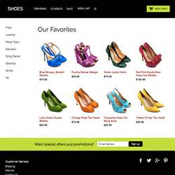 shopsite built in templates