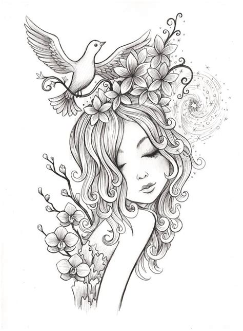 digital art coloring page best 25 coloring pages ideas on pinterest colouring