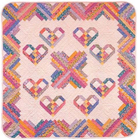 cute quilt pattern heartstrings quilt very cute free pattern i have the book