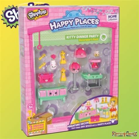 Shopkins Happy Places Dinner Decorator Pack Shopkins Happy Places Decorator Pack Dinner