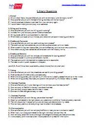 question library b2b customer satisfaction surveys