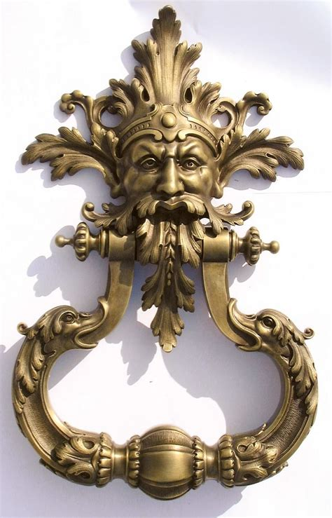 cool door knockers bronzes de france way cool door knocker knobs and