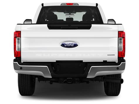 image  ford super duty   srw xlt wd supercab  box rear exterior view size