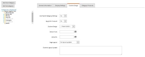 magento category custom layout update exle magento 2 change category page layout and custom theme