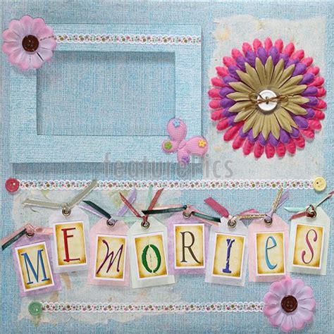 Handmade Album Covers Ideas - scrapbook album cover picture