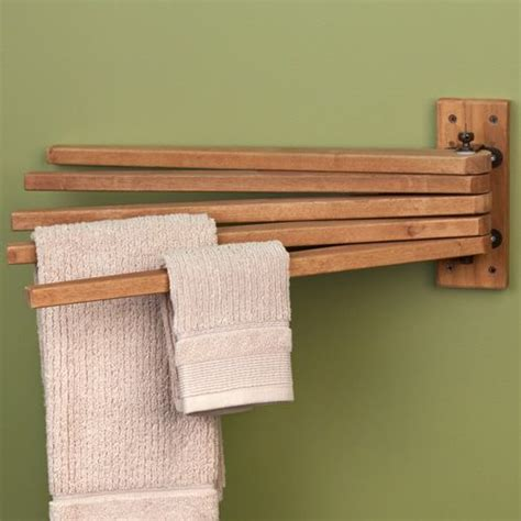 wooden towel bars bathroom teak wood swing arm towel bar bathroom vanities