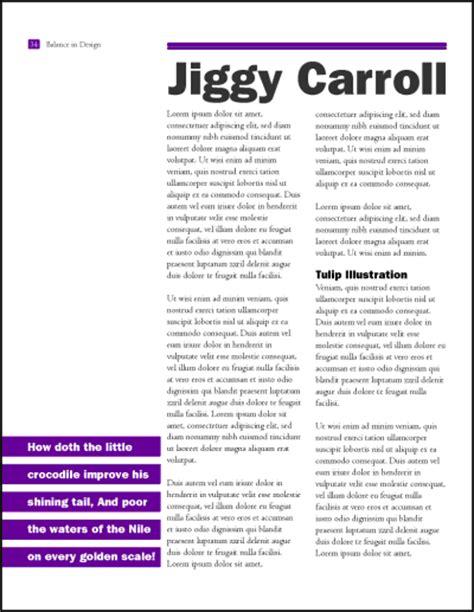 teks layout adalah tips membuat komposisi layout halaman yang baik