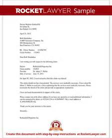Health Insurance Appeal Letter Template Letter To Appeal A Medical Claim Denial With Sample
