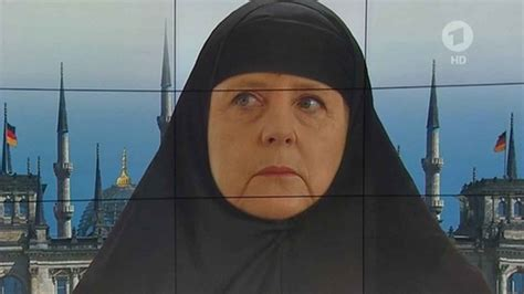 Burka Meme - angela merkel