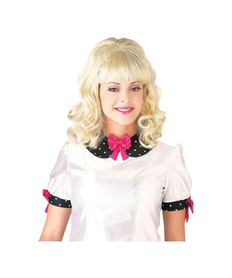adult teaser blonde wig women halloween costumes