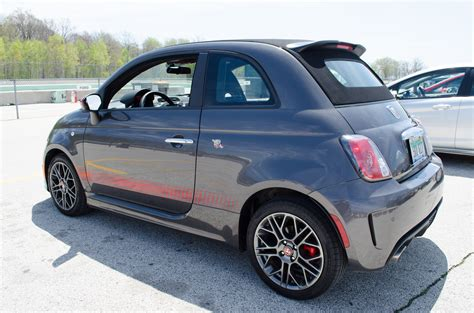 fiat convertible fiat 500 abarth v ford fiesta st small car shootout