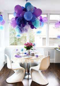 Fun purple party decorating ideas