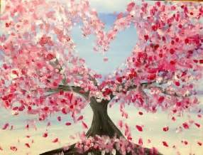 paint nite japanese cherry blossoms 1000 ideas about cherry blossom on skull
