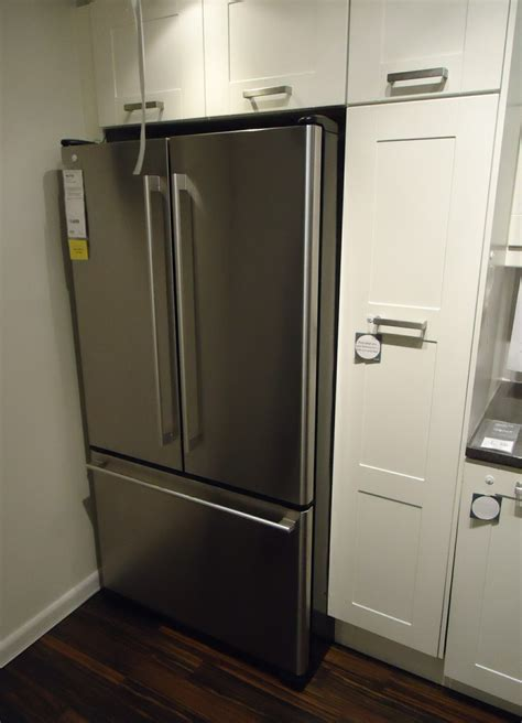 kitchen cabinets refrigerator file kitchen design at a store in nj refrigerator and