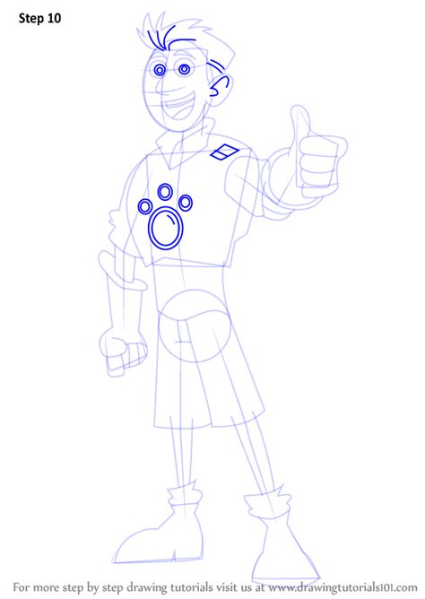 How To Draw Kratts Step By Step