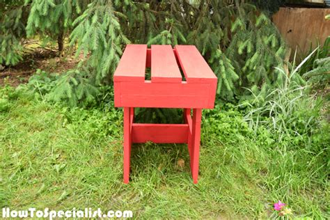 diy side table plans howtospecialist how to build how to build an outdoor side table howtospecialist how