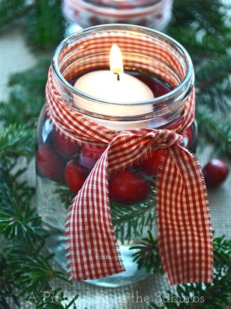 simple pretty christmas centrepieces a pretty life in