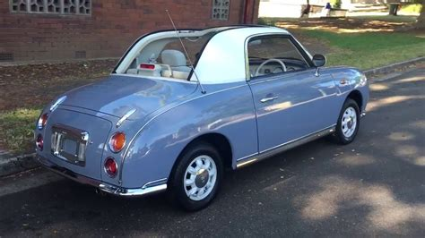 nissan grey nissan figaro lapis grey immaculate for sale