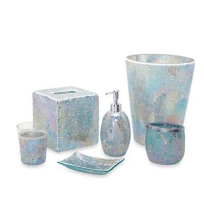 india ink bathroom accessories india ink aurora pastel cracked glass bath accessory