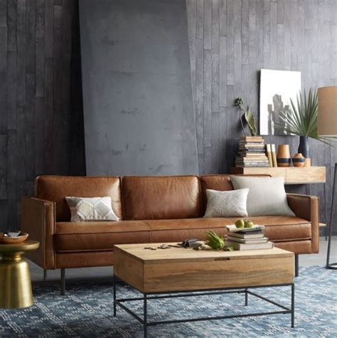 industrial couch 5 couch styles for your living room from boho to industrial