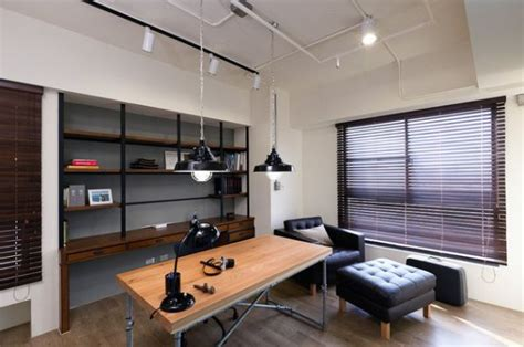 industrial home office designs