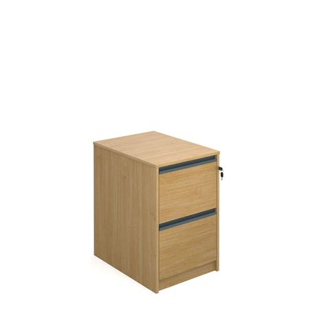 filing cabinet with 2 drawers and finger pulls 723mm high