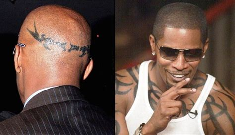 jamie foxx tattoo cool foxx pictures