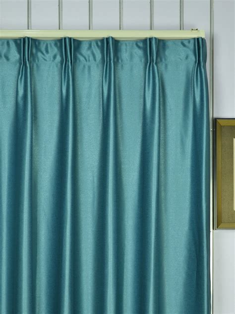 100 in curtains extra wide swan gray and blue solid versatile pleat