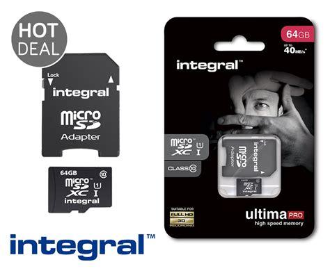 V Microsd 8gb Dan Adapter Class 6 integral class 10 microsd geheugenkaart tot 64gb
