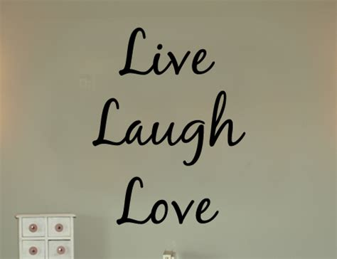 live laugh live laugh love blackjack wall decals trading phrases