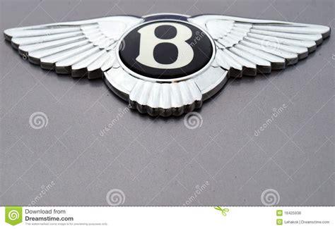 bentley van het embleem van bentley redactionele stock foto