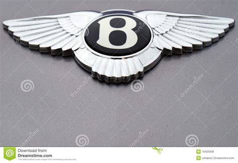 bentley motors logo bentley logo editorial stock photo image 16425938