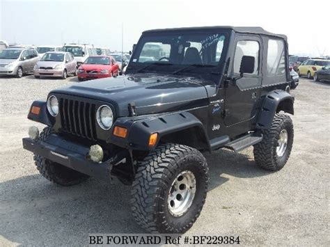1996 Jeep Wrangler For Sale Used 1996 Jeep Wrangler Sports E Tj40s For Sale Bf229384