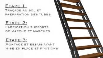 echelle metallique fabrication d un escalier droit ou 233 chelle de meunier 224