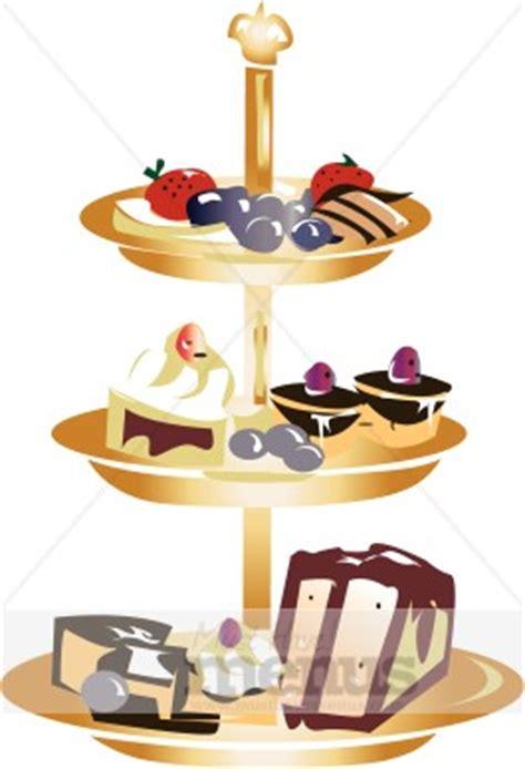 clipart dolci dessert tray clipart