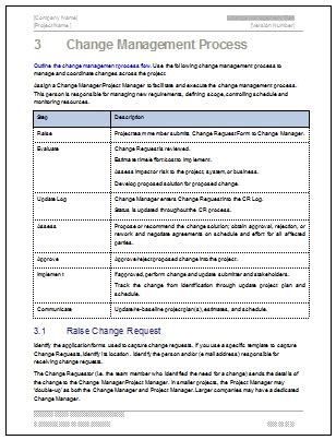 Change Management Process Template Invitation Template Change Management Template Excel
