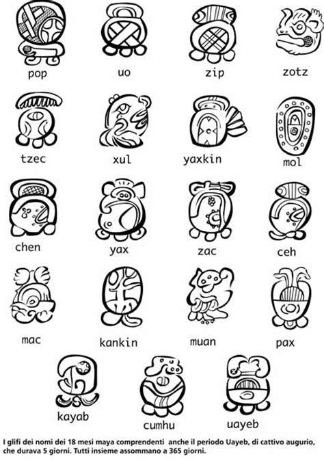 Calendario Azteca Meses Almanaques Y Calendarios Calendario