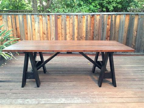 outdoor farm table with benches white farmhouse table tables home