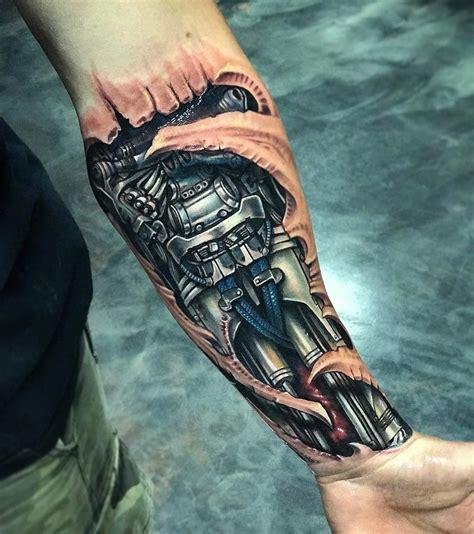 tattoo ideas reddit biomechanical forearm best forearm tattoos cool