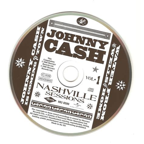 Nashville Records The Mercury Records Nashville Sessions Volume 1 Johnny Is Coming To Town