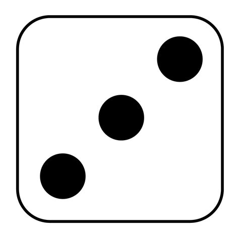 dot pattern on dice dice 7 dots clipart clipart suggest