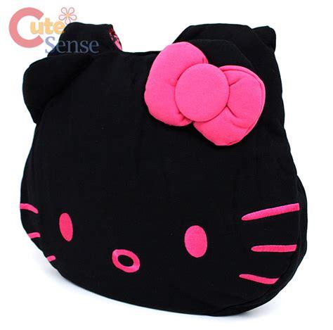 3d Cross Bumper Character Hello Pink sanrio hello fleece hobo bag black licensed ebay